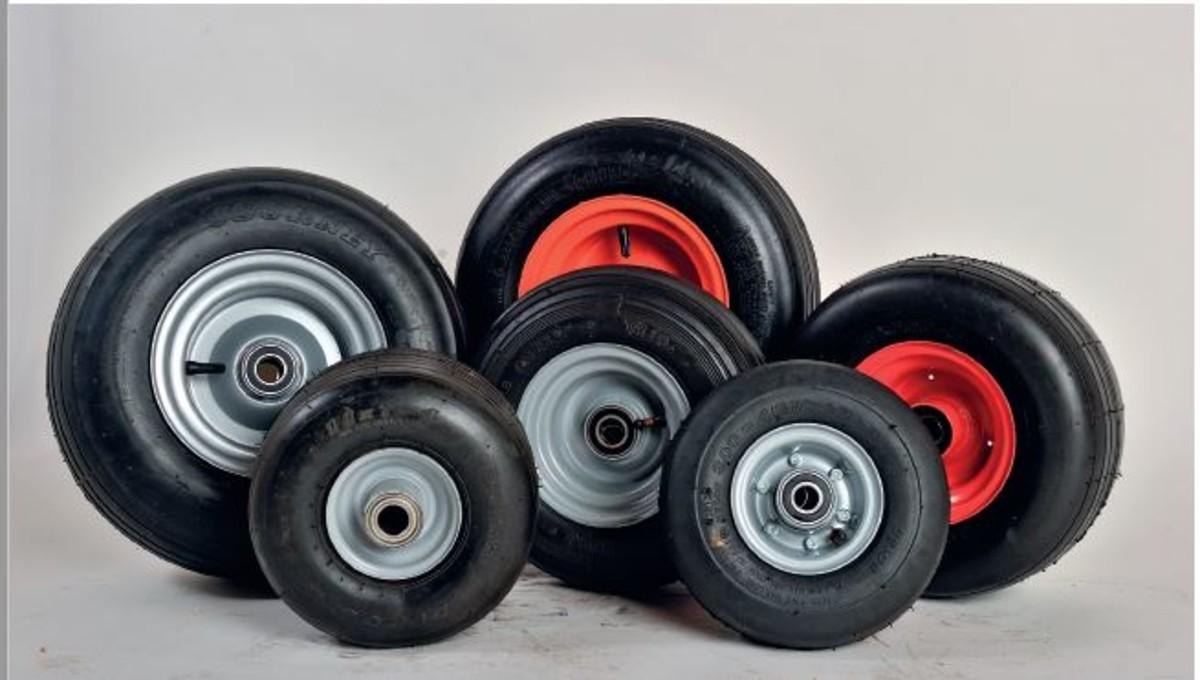 Ruote per carrelli industriali
